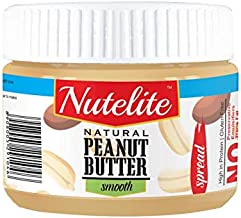 Nutelite Natural Peanut Butter (Spread) - Smooth,  340 g
