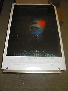 UNDER THE SKIN / ORIG. U.S. ONE SHEET MOVIE POSTER (SCARLETT JOHANSSON) DS