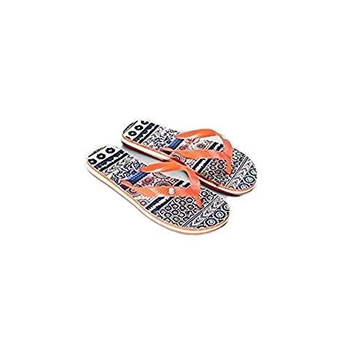 Desigual 74HSEF0 Schuhe, Flip Flop Exotic Jeans, Größe 38