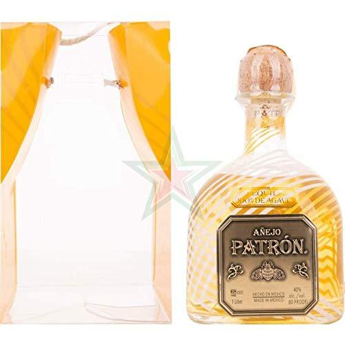 Patrón Tequila Añejo 40,00% 1,00 Liter