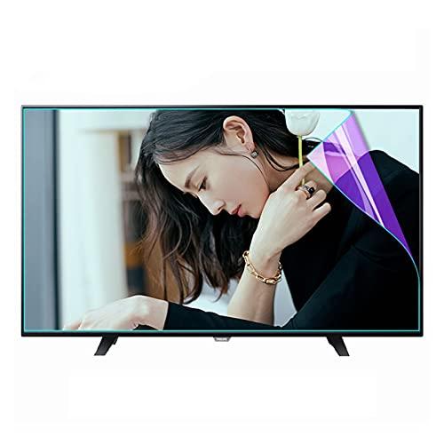 AMDHZ Adecuado para LCD, LED, 4K OLED y QLED, Protector de Pantalla, Antiarañazos, antihuellas, antigrasa, Proteger los Ojos (Color : HD Version, Size : 55 Inch 1221X689mm)