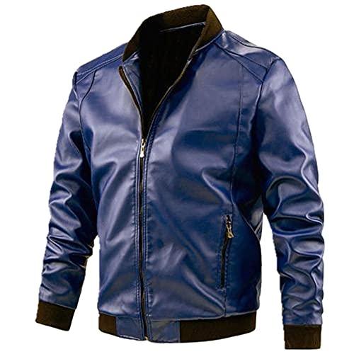 NP Chaqueta hombres chaqueta chaqueta masculina marrón abrigo marrón negro PU