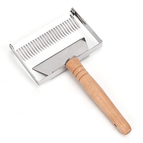 Fditt Aiculture - Tenedor raspador de miel, pala para equipo apícola, herramienta de apicultura