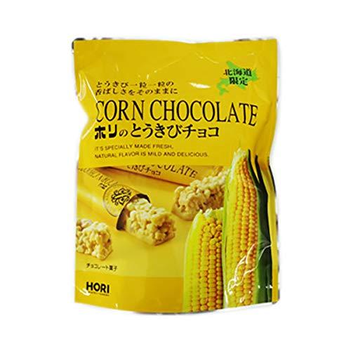 北海道より冷蔵便でお届け チョコレート菓子 ホワイトチョコレート 北海道 とうきびチョコ 北海道限定 ホリ とうきびチョコ ホワイト 1袋(10本入) チョコレート菓子