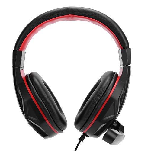 Auriculares para juegos, PC 13 Auriculares para juegos con cable, Auriculares internos estéreo con conector de micrófono de 3,5 mm, Auriculares internos con cancelación de ruido para PC portátiles