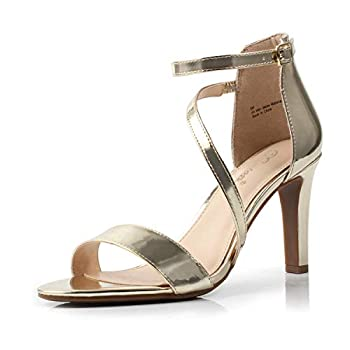 Best gold strappy sandals heels Reviews