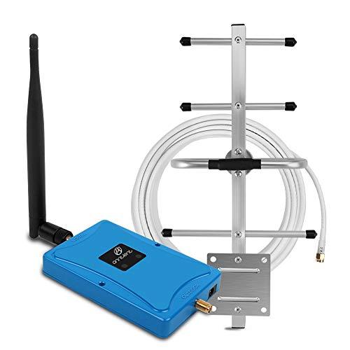 ANNTLENT gsm Repetidores de Señal de Móviles 4G Amplificador de Señal de Teléfono Celular Dual-Band 900/800MHz