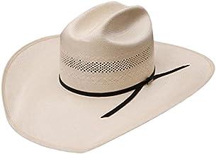 RESISTOL Mens 20X Cut Bank Straw Cowboy Hat 7 1/4 Natural