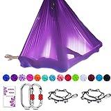 TESLANG Aerial Yoga Swing, Aerial Silks Yoga Hammock, Antigravity...