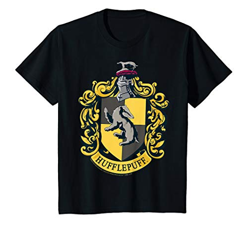 Kids Harry Potter Hufflepuff House Crest T-Shirt