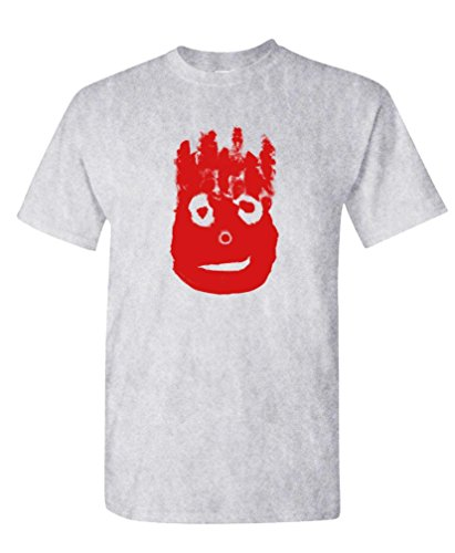Volleyball Bloody FACE - Ocean Movie Hanks - Mens Cotton T-Shirt, S, Sport