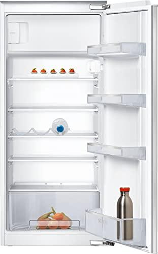 Siemens KI24LNFF1 iQ100 Einbau-Kühlschrank mit Gefrierfach / F / 189 kWh/Jahr / 200 l / freshBox / LED Beleuchtung / safetyGlas Ablagen