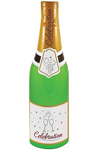 Aufblasbare Partyflasche für Erwachsene, 73 cm, für Junggesellinnenabschied, Dekoration, Kostüm-Zubehör, Spielzeug Gr. onesize, Aufblasbare Celebration Flasche