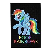 My Little Pony 木製パズル300ピース楽しいパズル減圧パズル300ピースバースデーギフトホリデーギフト