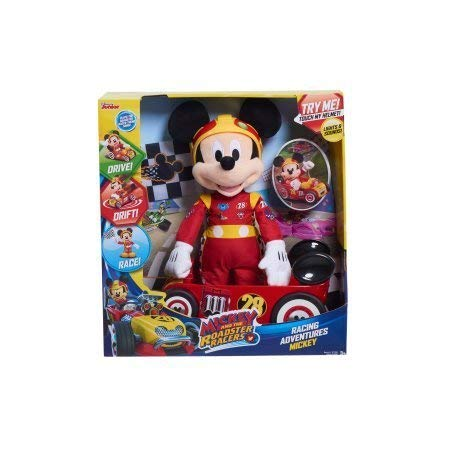 Mickey and the Roadster Racers Racing 15' Plush Mickey Plush