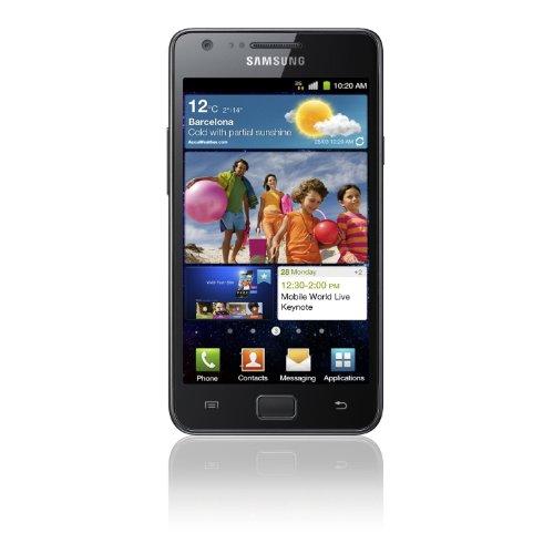 Samsung Galaxy S II schwarz–GT-I9100