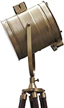 BRASS NAUTICAL DECO TRIPOD FLOOR LAMP 8093851S