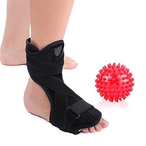SXFYGYQ Soporte para la ortesis de la Postura Articulación del Tobillo y Espiga Masaje Bola Protector del Tobillo Fascitis Plantar Soporte de la ortesis del pie