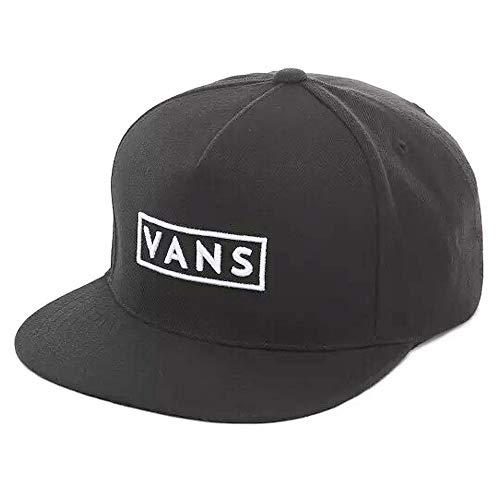 VANS ヴァンズ [ロゴスナップバックキャップ 帽子 CAP/M EASY BOX SNAPBACK] 7607148 [2カラー] (BLACK) [並行輸入品]