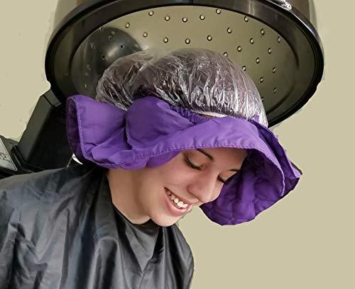 Hair Dryer Heat Shield (Purple)