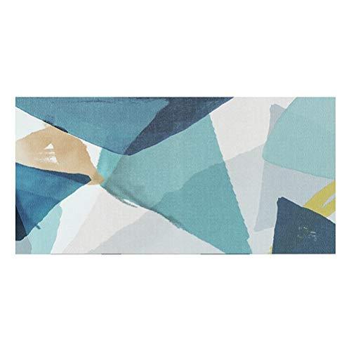 Lfixhssf Oosterse Traditionele Tapijt Klassiek Ontwerp Geometrisch Patroon Zijde Tapijt Niet-vervagen Katoen Doek Bodem 1cm Dikke Lfixhssf 50cmx160cm C