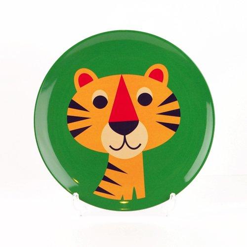 OMM-design Ingela P Arrhenius (インゲラ・アリアニウス) メラミンプレート (Tiger/タイガー)