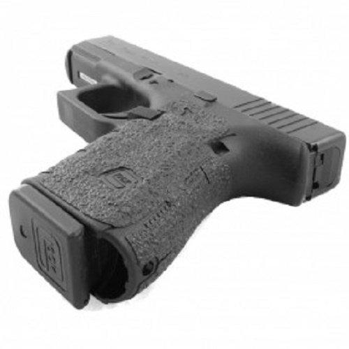 TALON Grips for Glock 19,23,25,32,38 -(Gen3, 2, or 1) Black Rubber - 104R W/Free Sticker - Johnson Enterprises, LLC