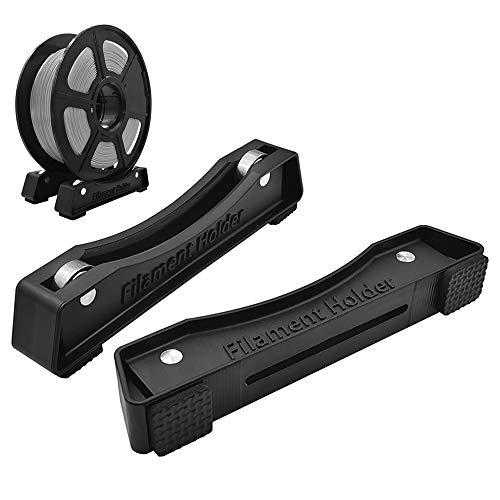 Cyleibe 2 soportes de impresora 3D con rodamientos de bolas, accesorios de impresión 3D, estantes de fijación, bobinas de consumibles ajustables para PLA/ABS/TPU/otros.