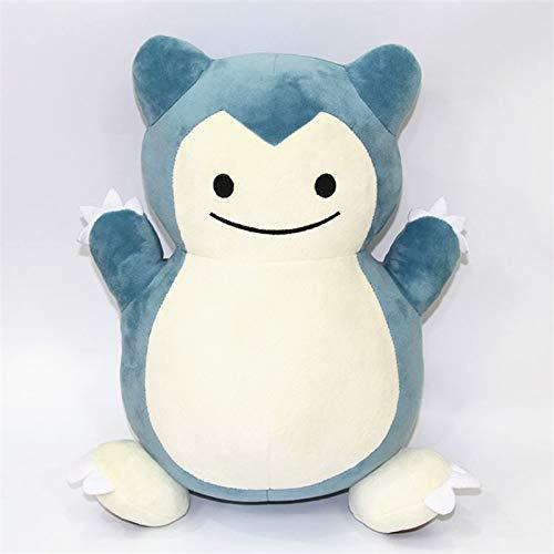 Peluches Snorlax Plush Doll Cute Pillow Cojín Juguetes para Niños Dibujos Animados Japón Anime Q Style