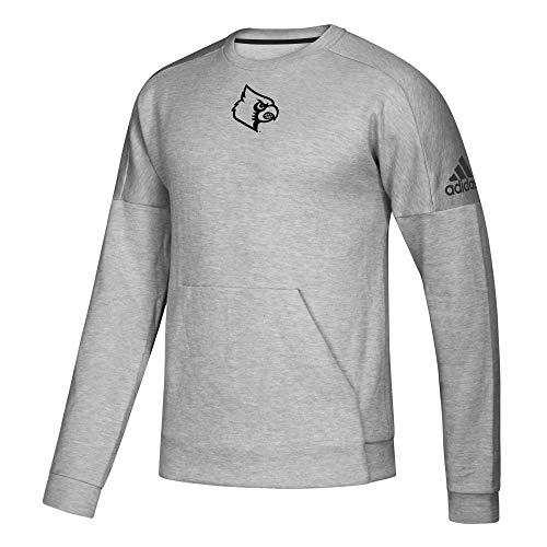 adidas NCAA Herren Pullover Fleece, Herren, LOUPH83, grau, Large
