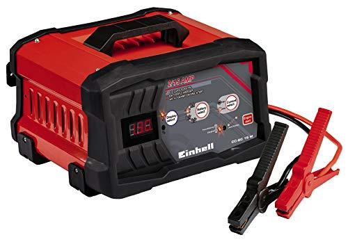 Einhell 1002261 Cargador Bateria CC-BCc 15 m con Control Micro-Processor Voltaje 6/12v