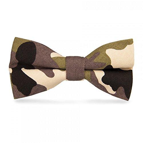 CravateSlim N?ud Papillon Militaire Camouflage n°3