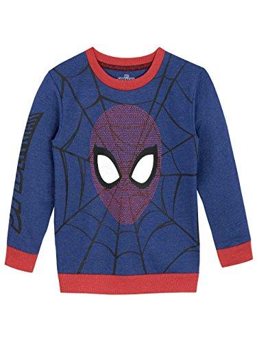 Spiderman - Felpa per Ragazzi - Uomo Ragno - 11 a 12 Anni