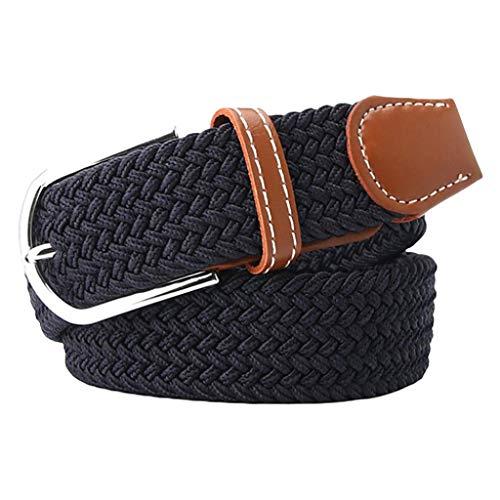 yotijar Cinturón de Cintura de Correa de Deporte Militar para Hombre Unisex - Azul marino, talla única