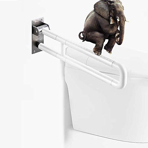Asistida antideslizante Manija de la barra de agarre del baño Seguridad en...