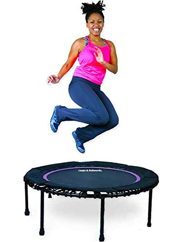 Leap and Rebounds Fitness Trampoline, Improve Cardio, Balance, and Physical Strength