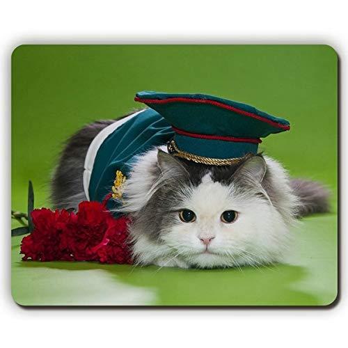 (Augen-Mausunterlage) Qualitätsmausunterlage, Katzenpelzaugen-Hutblumen, Spiel-Büro Mousepad