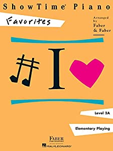 ShowTime Piano Favorites - Level 2A