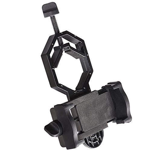 AW Universal Telescope Phone Adapter Mount Holder Microscope Binocular Monocular