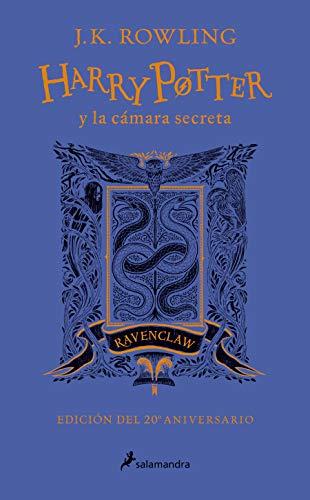 Harry Potter y la cámara secreta (edición Ravenclaw del 20º aniversario) (Harry Potter 2): Azul