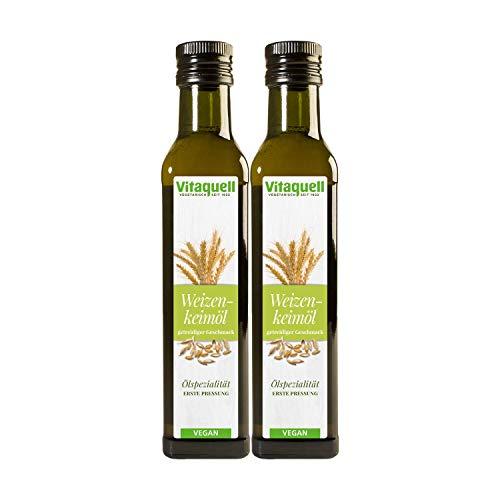 Vitaquell 2 x Weizenkeim-Öl, 1. Pressung 250 ml