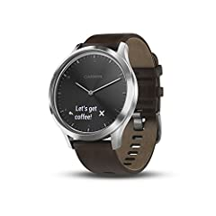 Stay connected with smart features such as music controls and smart notifications for incoming calls, text messages, calendar reminders and more (when paired with a compatible smartphone) Estimates heart rate with Elevate wrist heart rate technology ...