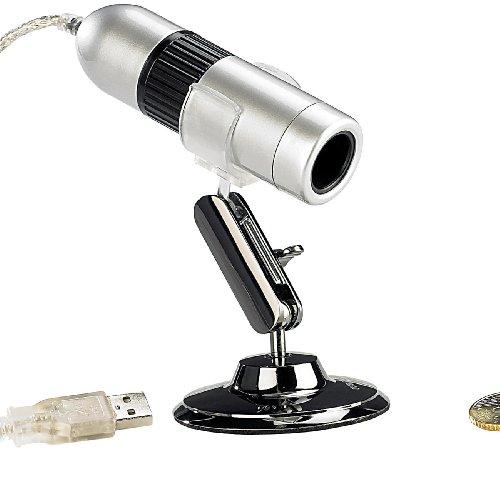 Somikon USB Digital-Mikroskop-Kamera 10x - 200x