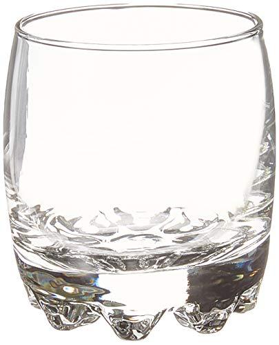 Bormioli Rocco Galassia Rocks Glasses (Set of 4), 10 oz, Clear