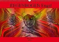 REGENBOGEN Engel (Wandkalender 2022 DIN A3 quer): Kunstvolle Engel in allen Farben des Regenbogens als Begleiter durch das NEUE JAHR (Monatskalender, 14 Seiten )