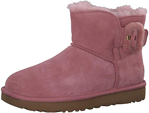 UGG - Stivali Mini Bailey Fluff Buckle - Pink Dawn, Taglia:38 EU