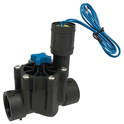 AQUA CONTROL Q160C - Electroválvula de riego con rosca hembra de 1 y con regulador de caudal. Incluye solenoide a 24 VAC. Ideal para cualquier instalación de riego enterrado.