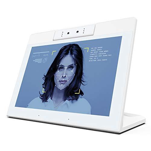 HUANGYUNCHAO Tablet PC Android 8.1 RK3288 de Cortex A17 Quad Core a 1,8 GHz hasta, Soporte de Bluetooth y WiFi y RJ45 y Tarjeta de TF (32 GB MAX) y HDMI Electrónica (Color : Blanco)