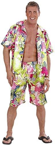 WIDMANN 28511?Disfraz de hombre hawaiano, de talla S