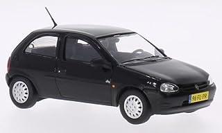 Opel Corsa B, schwarz, 1994, Modellauto, Fertigmodell, Triple 9 Collection 1:43